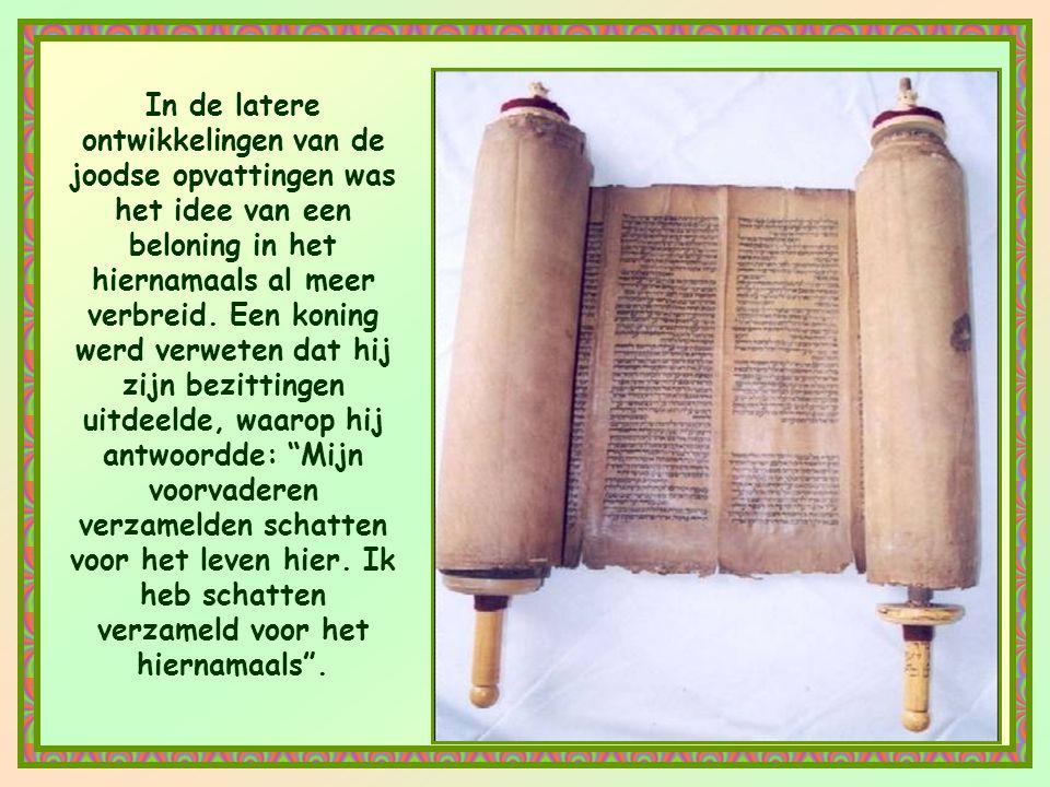 Vóór de komst van Christus vroeg God niet zoveel van ons. Het Oude Testament beschouwde de aardse rijkdom als iets goeds, als een zegen van God. En wa