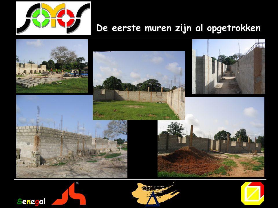 De eerste muren zijn al opgetrokken Senegal