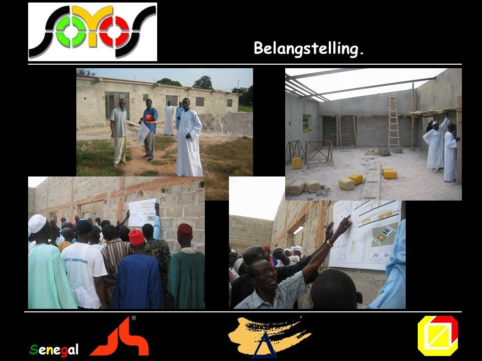 Belangstelling. Senegal