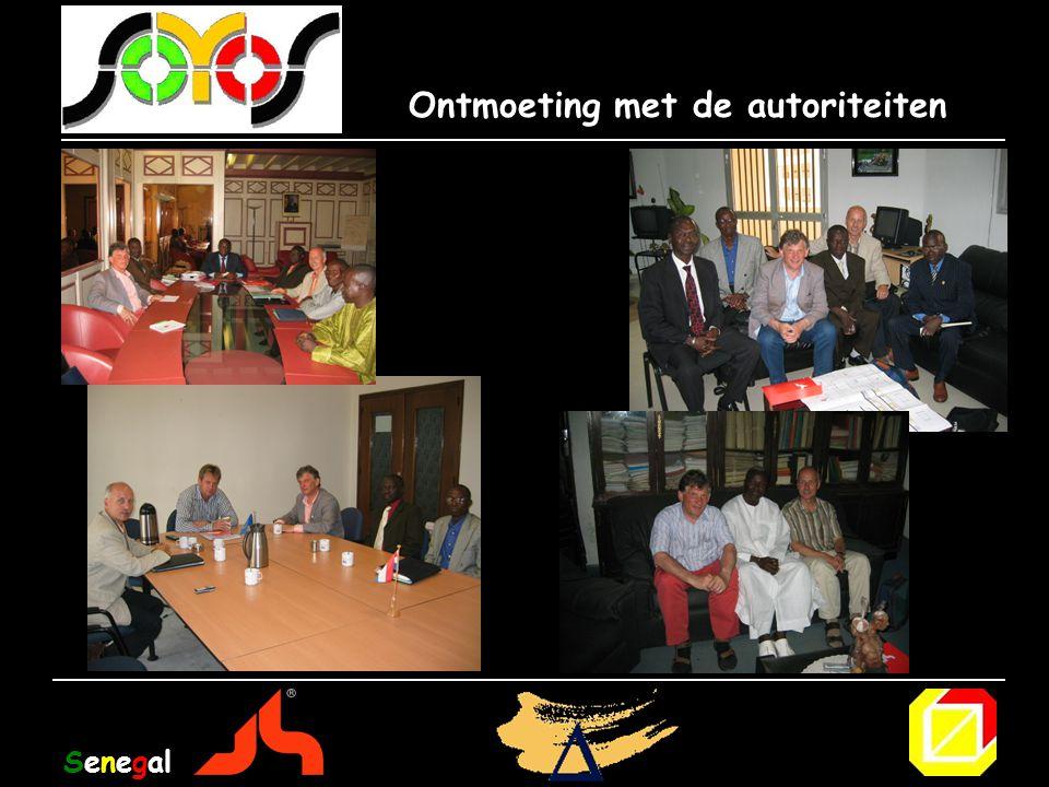 Ontmoeting met de autoriteiten Senegal