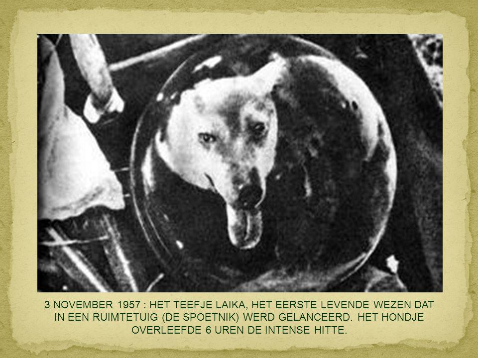 4 SEPTEMBER 1957 : LITTLE ROCK IN ARKANSAS (VS) : NADAT HET HOF HET EINDE VAN DE SEGREGATIE IN HET ONDERWIJS HAD AFGEKONDIGD.