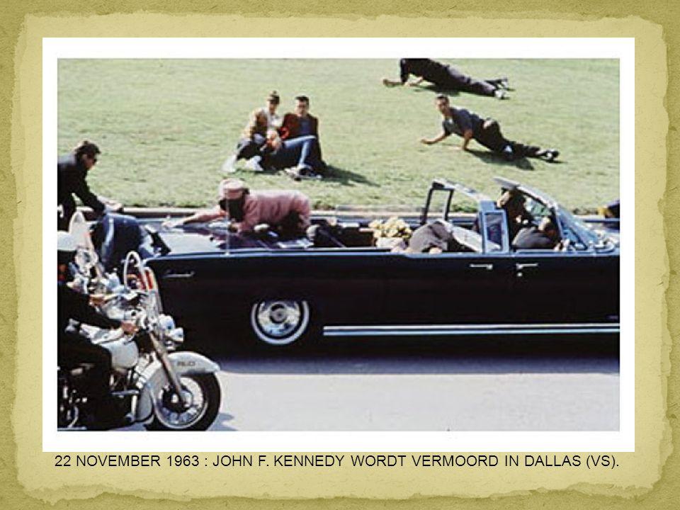 11 JUNI 1963 : THICH QUANG DUC STEEKT ZICHZELF IN BRAND IN SAIGON UIT PROTEST TEGEN DE REPRESSIE VAN DE REGERING.
