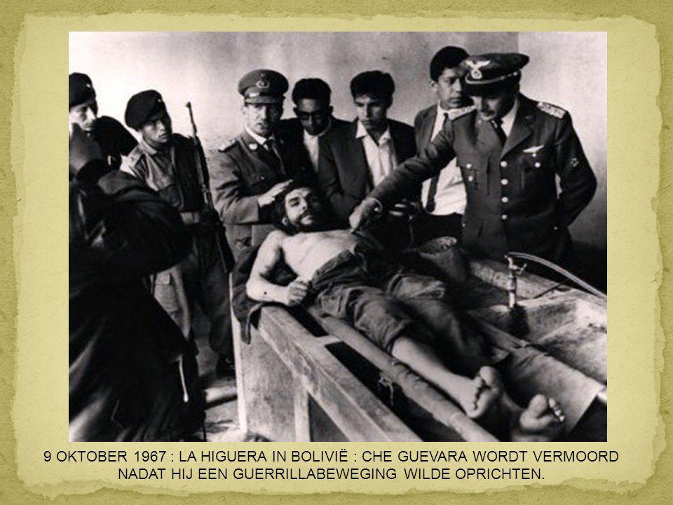 1965 : LENNART NILSSON PUBLICEERT DE EERSTE FOITO VAN EEN FOETUS IN DE BAARMOEDER.