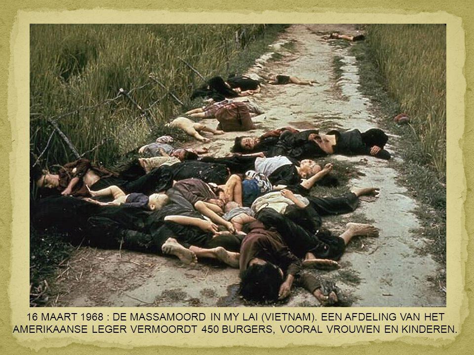 9 OKTOBER 1967 : LA HIGUERA IN BOLIVIË : CHE GUEVARA WORDT VERMOORD NADAT HIJ EEN GUERRILLABEWEGING WILDE OPRICHTEN.