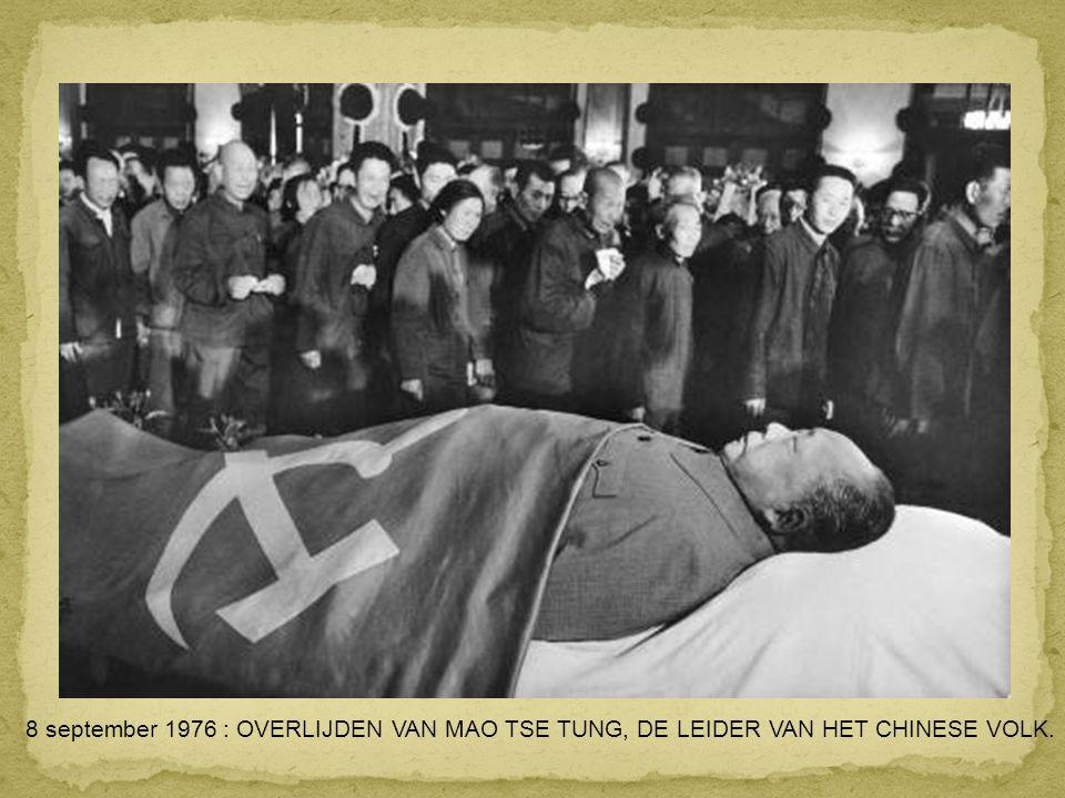 11 SEPTEMBER 1973 : SANTIAGO (CHILI) : PRESIDENT SALVADOR ALLENDE MINUTEN VOOR ZIJN DOOD TIJDENS DE STAATSGREEP DOOR DE CIA EN AUGUSTO PINOCHET.