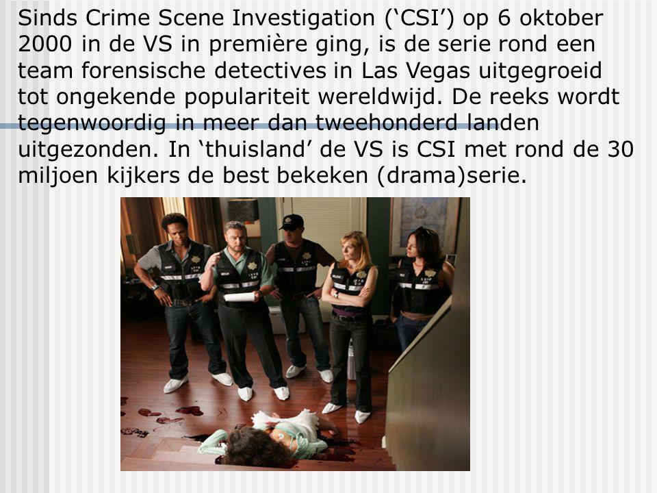 Csi Crime Scene Investigation Csi is een team die lijken onderzoekt hoe ze dood zijn gegaan en wie de daders zijn en hoe ze hem dood gemaakt hebben zo als een mes een pistool, een stok, een knuppel en zo gaat het maar door en ze vinden de dader echt wel met vinger afdrukken hand af drukken en door voet afdrukken