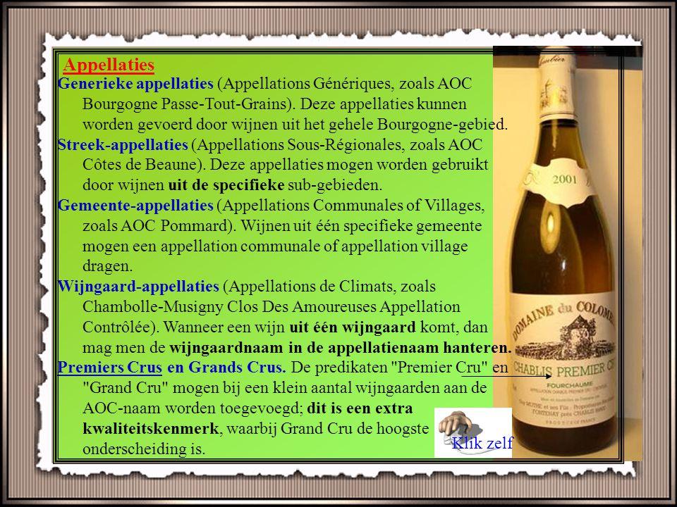Vosne-Romanée, Gevrey-Chambertin, Meursault, Vougeot, Nuits Saint Georges..... klinkende namen voor wijnliefhebbers! U wandelt midden tussen de wijnga