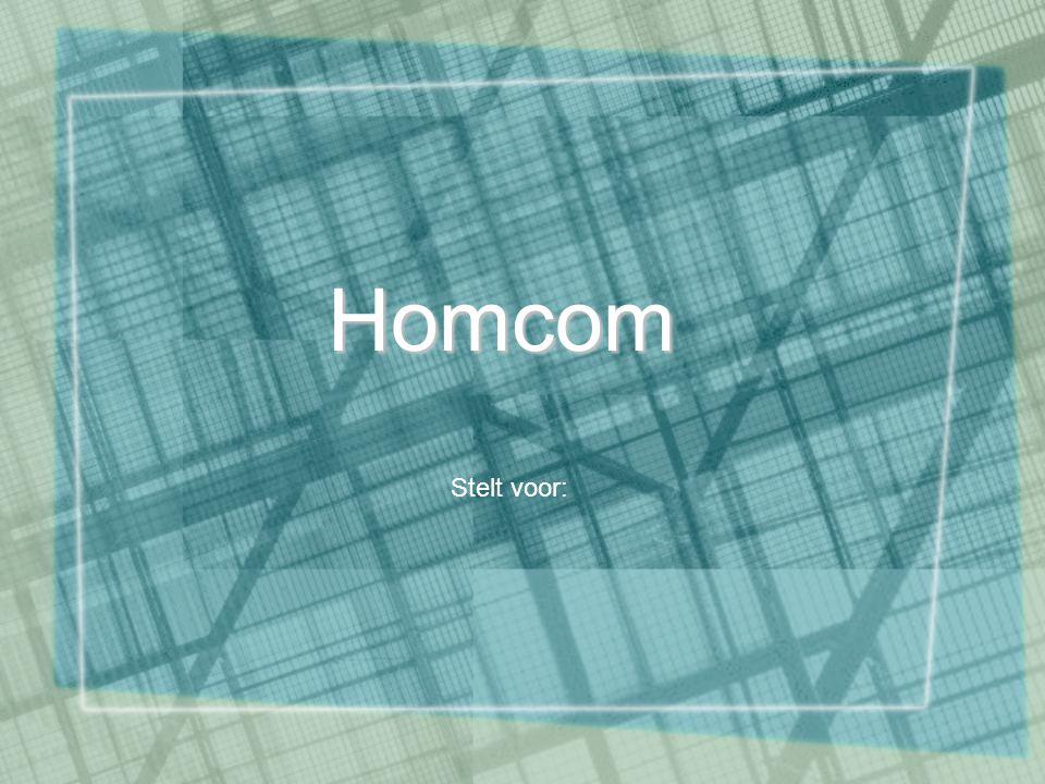 Homcom Stelt voor: