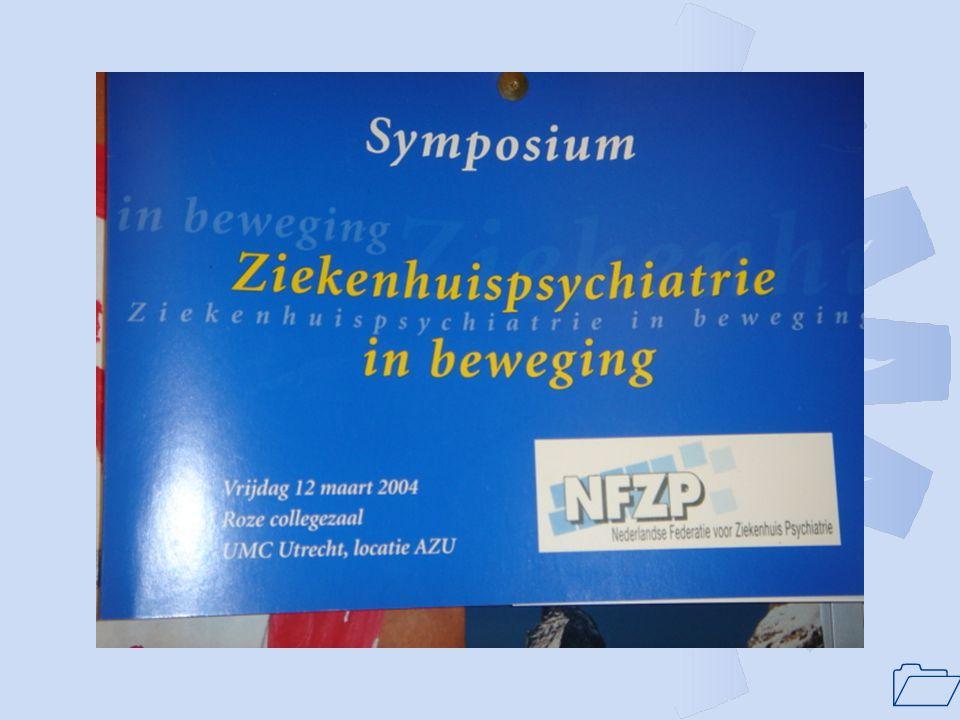 1 Doelstelling NFZP: De Stichting Nederlandse Federatie voor Ziekenhuispsychiatrie (NFZP) heeft tot doel de bevordering van de ziekenhuispsychiatrie in Nederland.