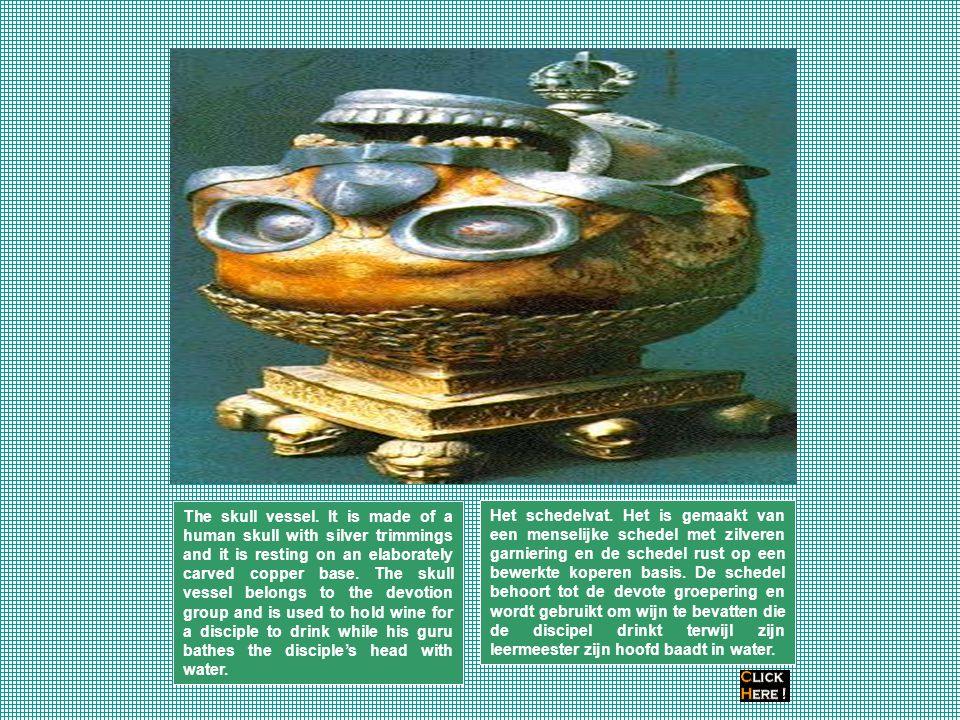 The skull vessel.