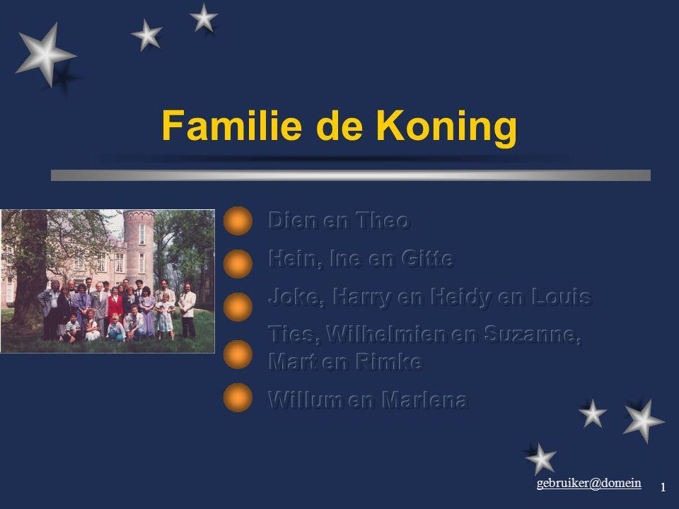 gebruiker@domein 1 Familie de Koning.