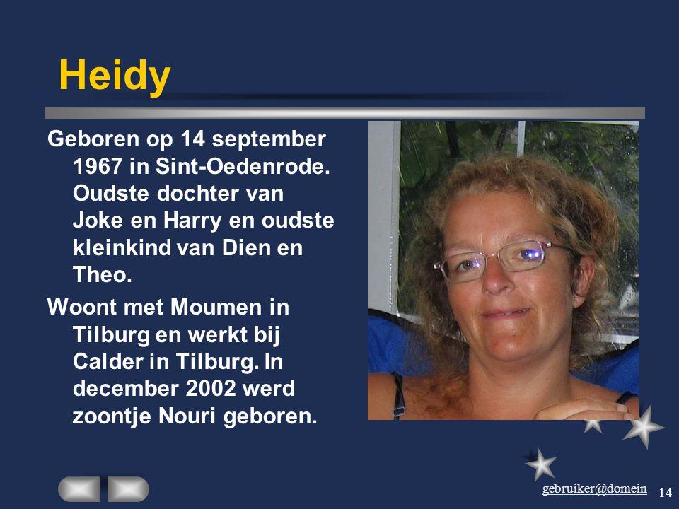 gebruiker@domein 13 Marlena Werd geboren op 21 september 1950 in Polen. Woont na een langdurig verblijf in Nederland nu met Willum in Polen