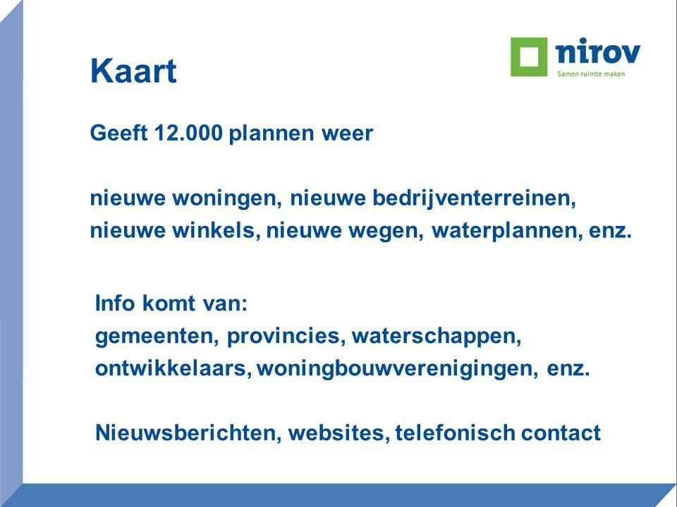 Indien de huidige leegstand wordt meegerekend, hebben 8 van de 15 regio's > 325% van de behoefte In de regio's Rotterdam, Haarlemmermeer en Twente gaat het om > 625% van de behoefte