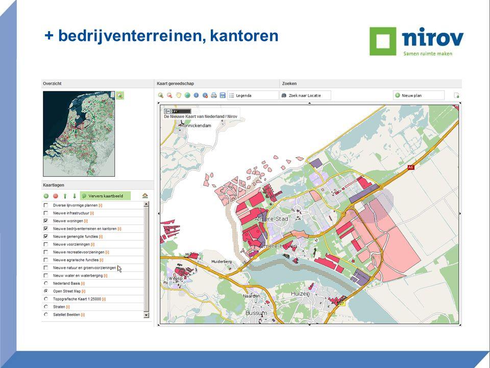 onderzoeksterreinen • Monitoring ontwikkeling in Nationale landschappen • Monitoring ontwikkeling van planvoorraad • Mogelijke gebieden voor WKO (duurzaam bouwen) • Bouwcrisiskaart verdiepen • Waterretentiegebieden in kaart •Bodemregistratie kaart •Bestemmen van de ondergrond