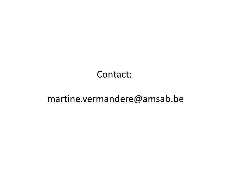 Contact: martine.vermandere@amsab.be
