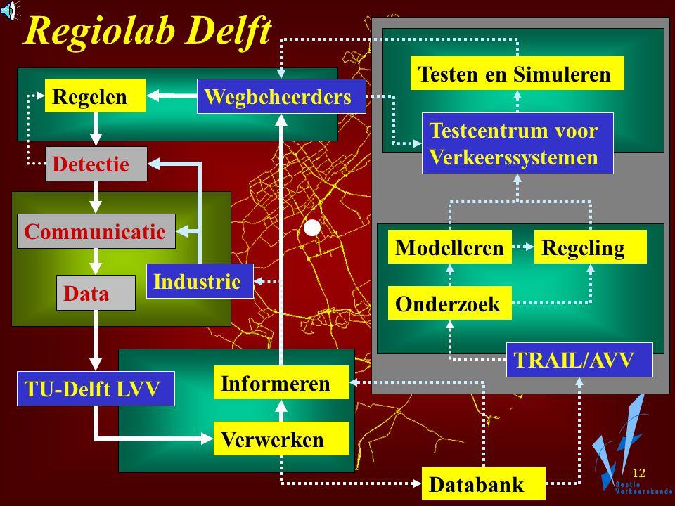11 Regiolab Delft Hoe werken deelnemers samen ? Afgebakende taken.