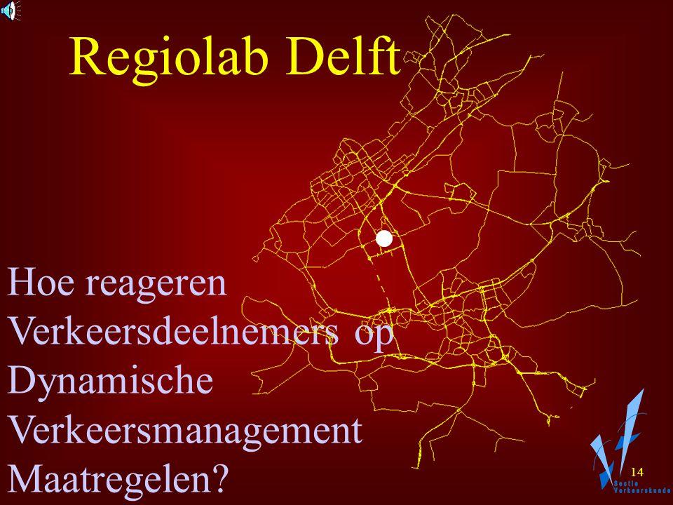 13 Hoe reageren Verkeersdeelnemers op Structurele en Incidentele Congestie? Regiolab Delft