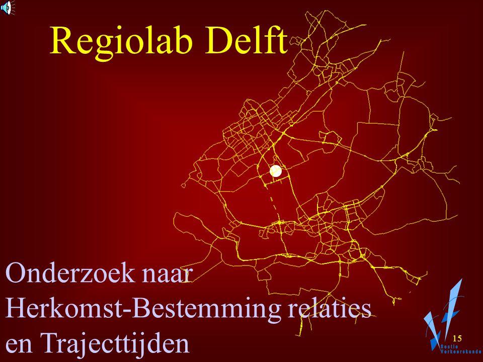 14 Hoe reageren Verkeersdeelnemers op Dynamische Verkeersmanagement Maatregelen? Regiolab Delft