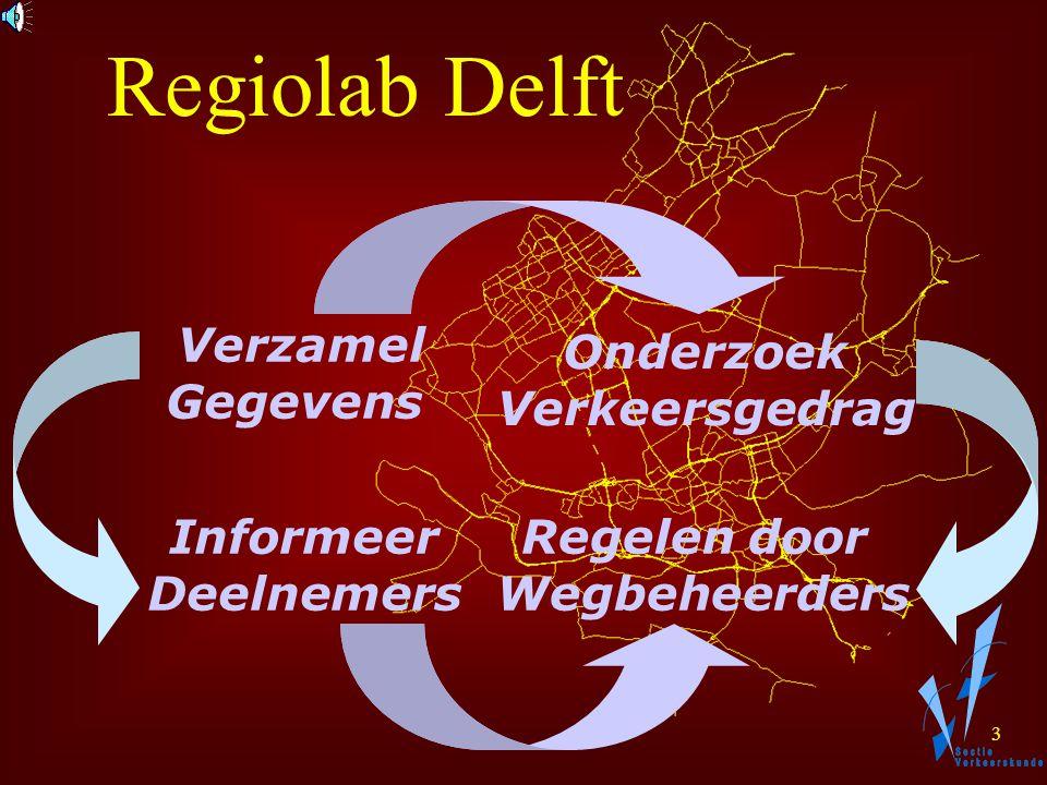2 Regiolab Delft Academisch onderzoek in directe relatie met praktijkproblemen, met ervaringen en met moderne apparatuur van de industrie