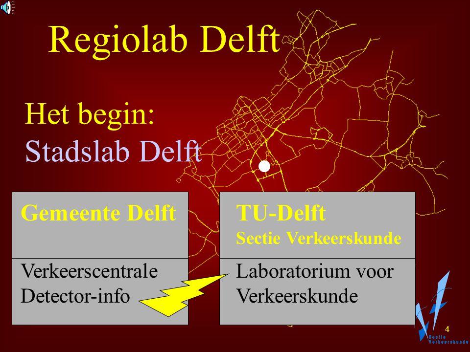 3 Verzamel Gegevens Informeer Deelnemers Onderzoek Verkeersgedrag Regelen door Wegbeheerders Regiolab Delft