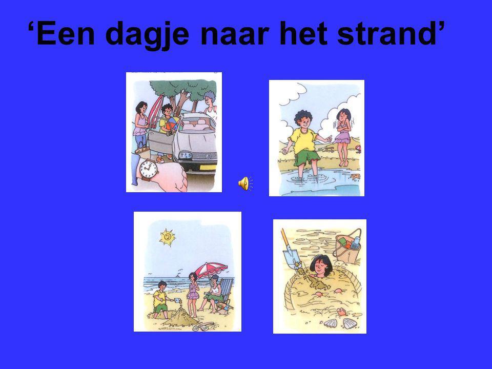 Mondeling Nederlands nieuw cursus 2 thema werk en vrije tijd. Het verhaal: 'Een dagje naar het strand' 'Sem valt van zijn fiets'.