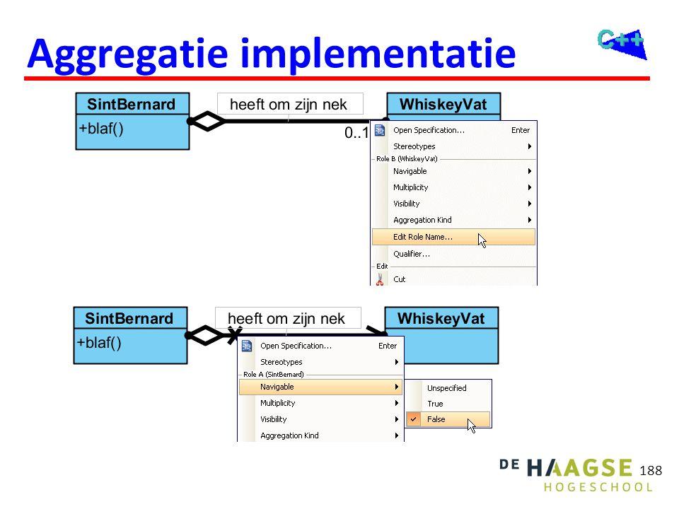 188 Aggregatie implementatie