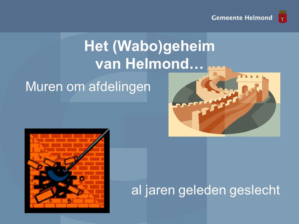 Het (Wabo)geheim van Helmond… Muren om afdelingen al jaren geleden geslecht