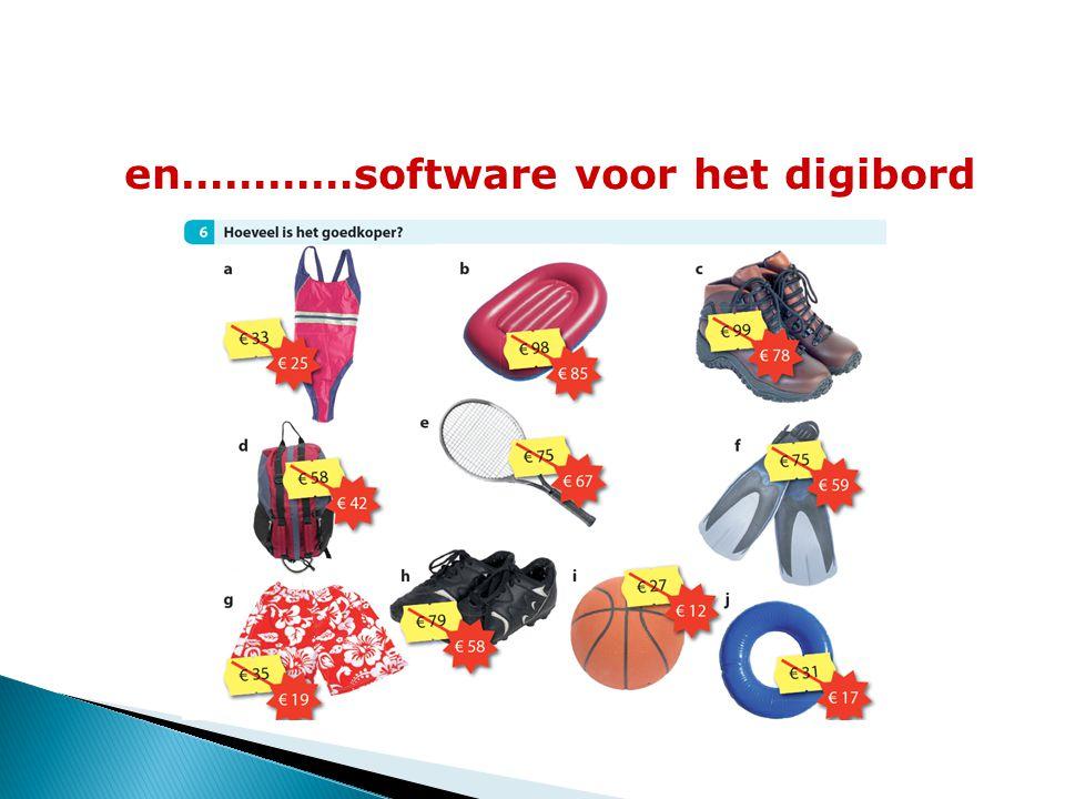en…………software voor het digibord