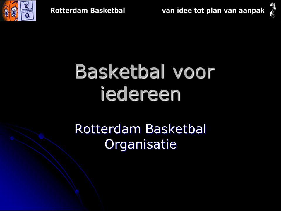 Basketbal voor iedereen Basketbal voor iedereen Rotterdam Basketbal Organisatie