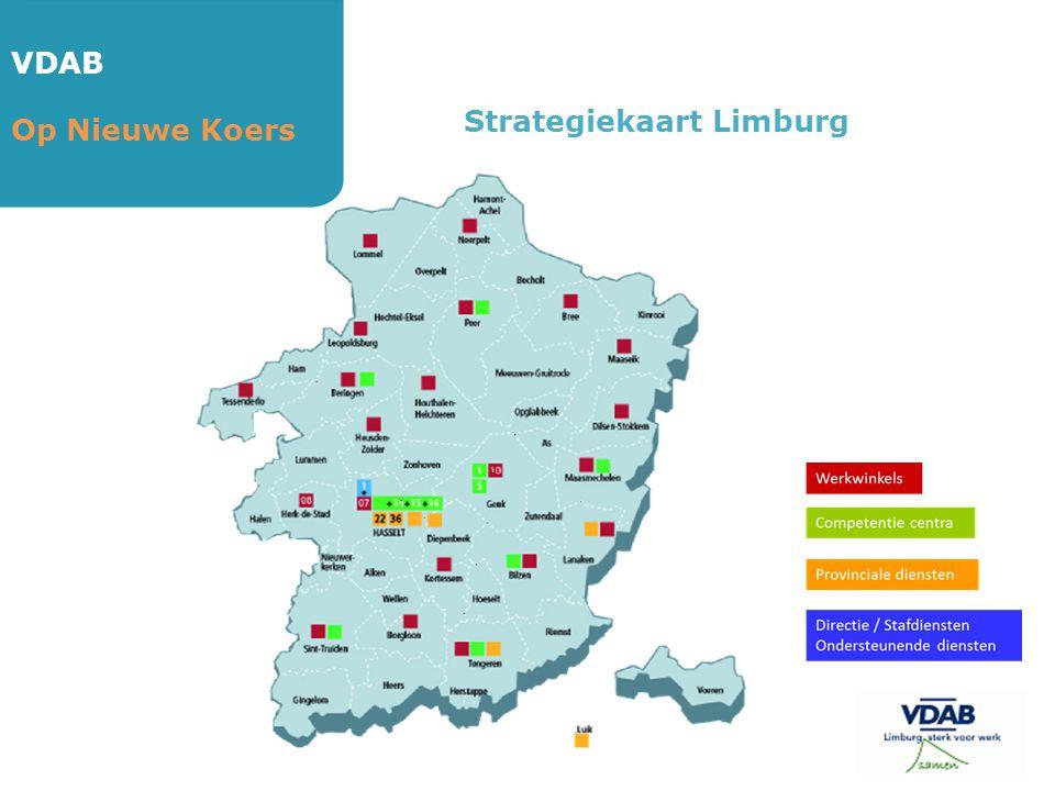VDAB Op Nieuwe Koers Strategiekaart Limburg