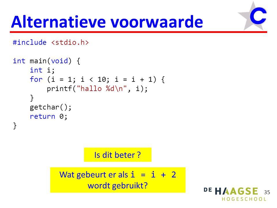 #include int main(void) { int i; for (i = 1; i < 10; i = i + 1) printf( hallo %d\n , i); getchar(); return 0; } 36 { bla; bla; bla; }  Compound statement.