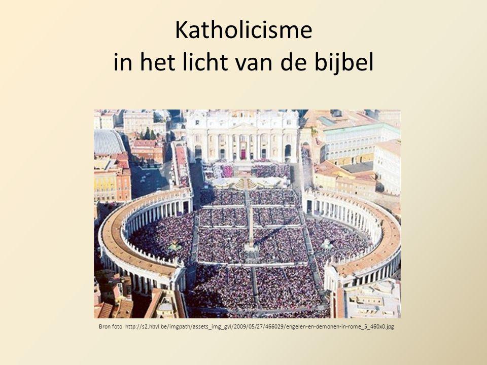 Katholicisme in het licht van de bijbel Bron foto http://s2.hbvl.be/imgpath/assets_img_gvl/2009/05/27/466029/engelen-en-demonen-in-rome_5_460x0.jpg