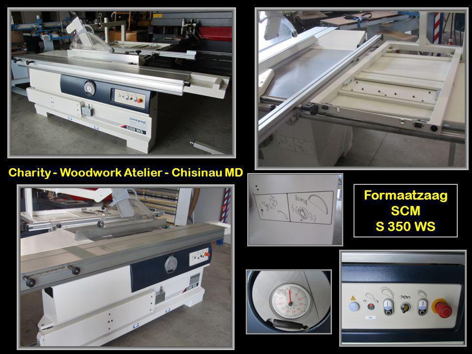 Formaatzaag SCM S 350 WS Charity - Woodwork Atelier - Chisinau MD