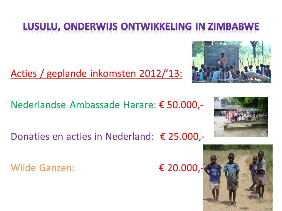 • Stichting LUSULU • Secretariaat Holthe 20 • 9411 TM Beilen • Tel.