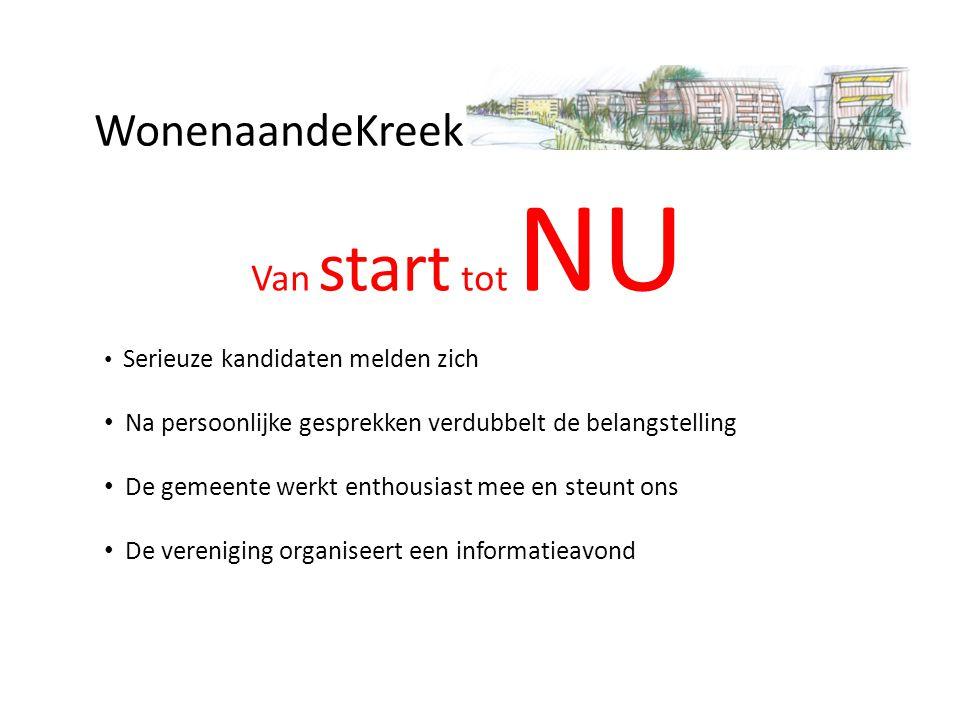 WonenaandeKreek Zelf bouwen aan je toekomst www.wonenaandekreekpoortwijk.nl