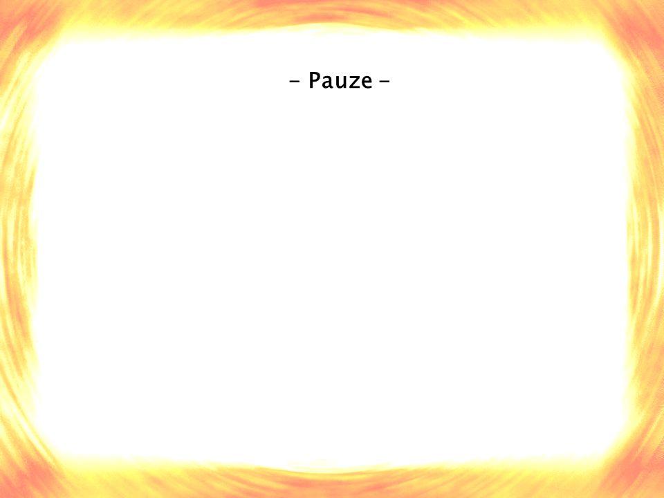 - Pauze -