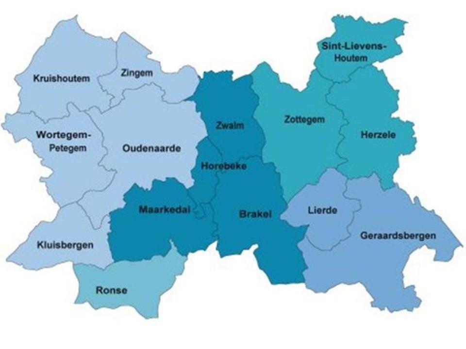 OUDENAARDE Stad in de Vlaamse Ardennen