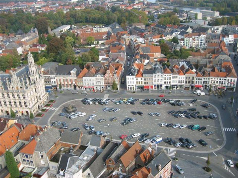 Luchtfoto gezien vanaf de Koppenberg