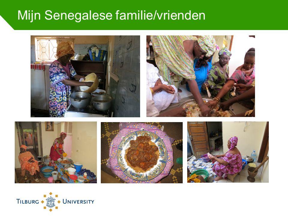 Mijn Senegalese familie/vrienden