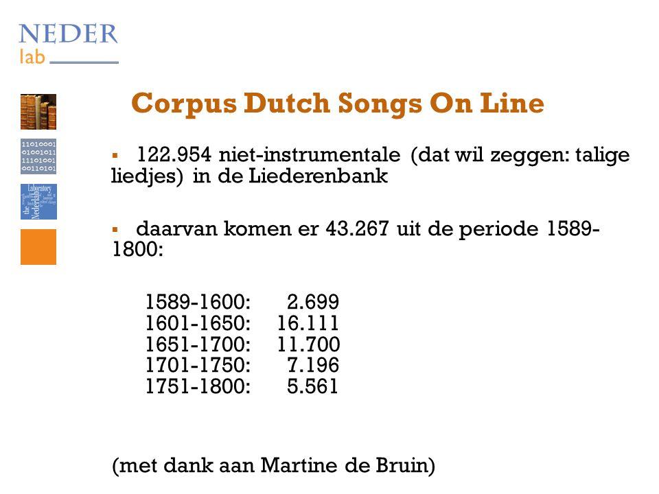 Het jongerenlied: de nieuwe mode vanaf 1589  van het Antwerps liedboek (1544), met een paar losse liederen voor de jeugd ('jongeren tot de huwbare leeftijd')  naar Aemstelredams Amoreus lietboeck (1589), met alleen maar liederen voor jongeren  Nieu Aemstelredams Liedboek (1591), …., t Dubbelt verbetert Amsterdamse Liedboeck (1639), ….