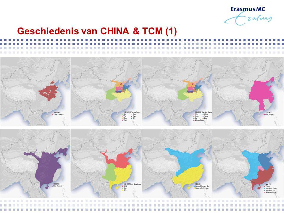 Geschiedenis van CHINA & TCM (1)