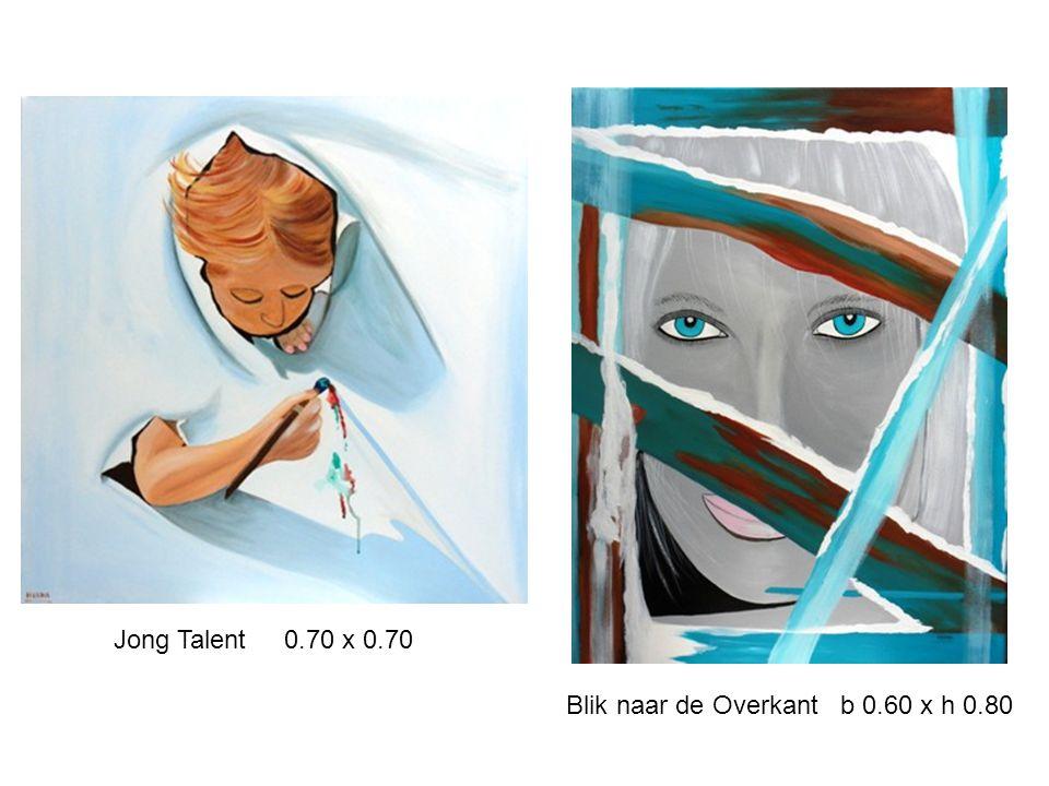Jong Talent 0.70 x 0.70 Blik naar de Overkant b 0.60 x h 0.80