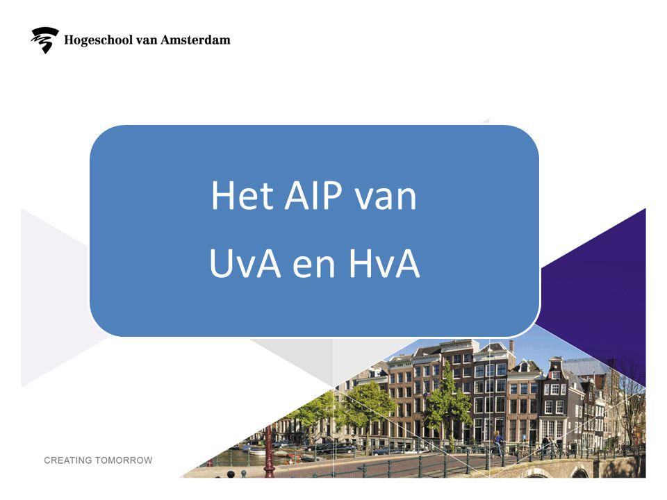 Het AIP van UvA en HvA