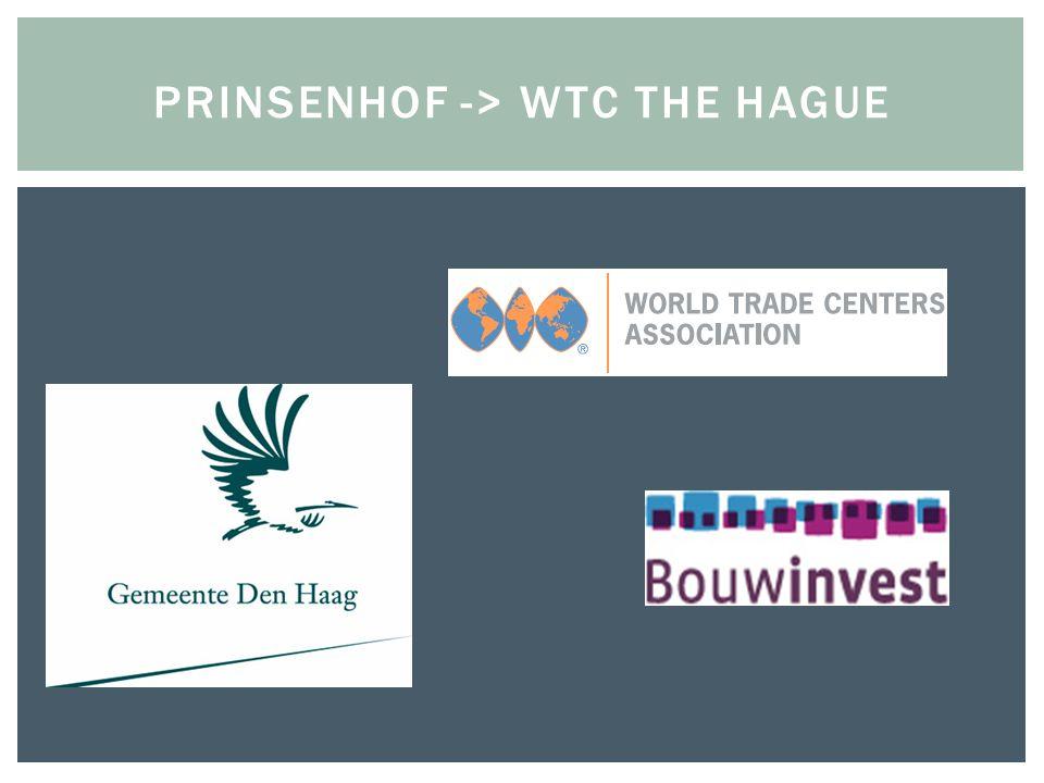 WTCA - World Trade Center Association Gemeente Den Haag Stichting WTC The Hague Bouwinvest (exploitant en beheerder van WTC The Hague) licentie- overeenkomst sub-licentieovereenkomst (gebruiksrecht) sub-sub-licentieovereenkomst (recht op uitvoering van gebruiksrecht) WTC International Business Club Exploitatie- en samenwerkingsovereenkomst
