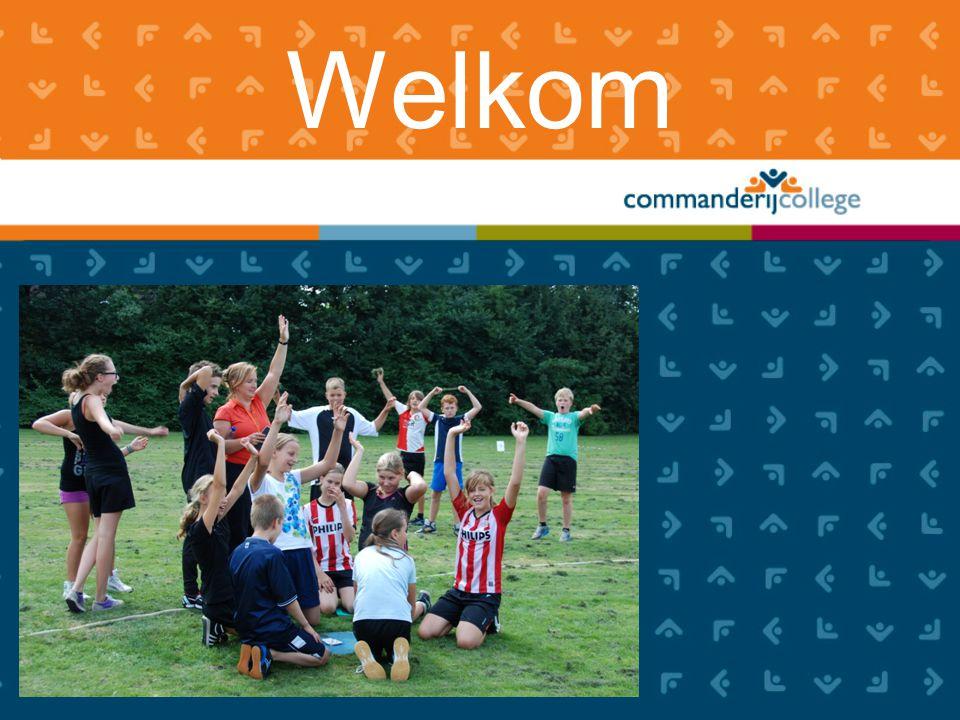 Rol van de ouders www.commanderijcollege.nl •In gesprek gaan •Luisteren •Tas controleren (boeken, schriften, agenda, gymspullen, eten, drinken) •Huiswerk begeleiden •Alert zijn op pestgedrag