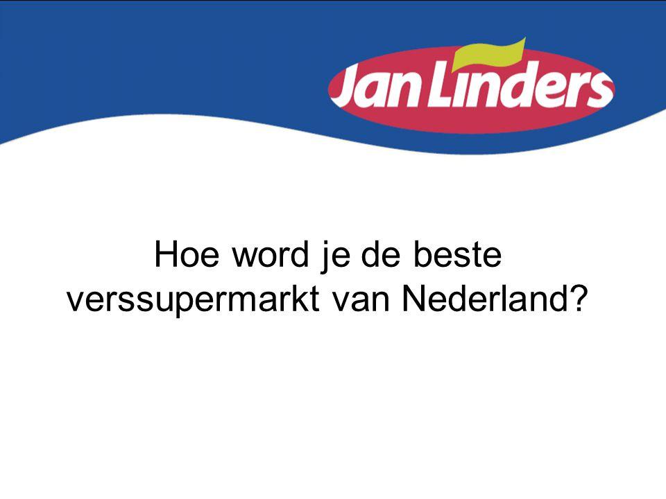 Jan Linders = •57 supermarkten in Zuid-Oost Nederland •3300 medewerkers •325 miljoen omzet •1% marktaandeel •Logistiek: State of The Art