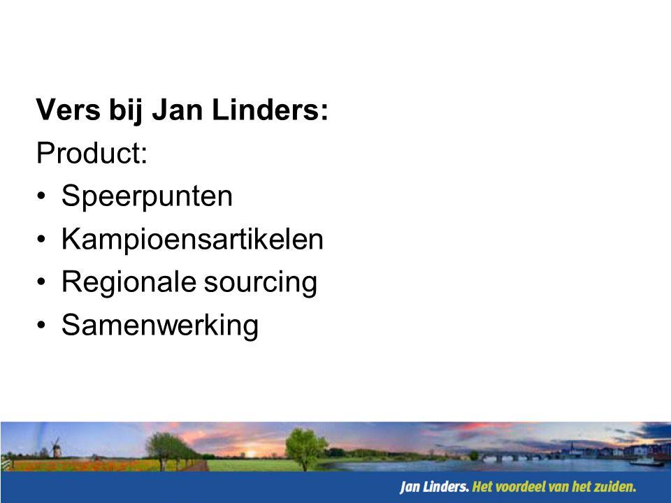 Vers bij Jan Linders: Presentatie: •Deli-counter •Versplein
