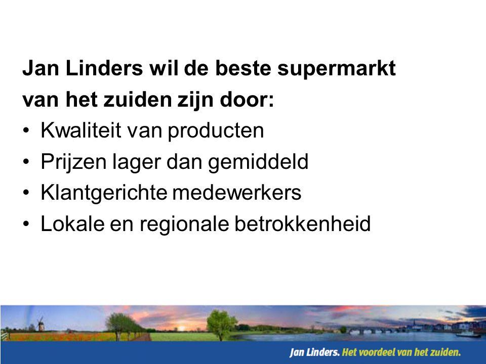 Kwaliteit: •9x Beste Bakker van het land •Beste Verssupermarkt 2010 + 2011 •Toplijnen als bewijs •Groeiende inkoop in de regio