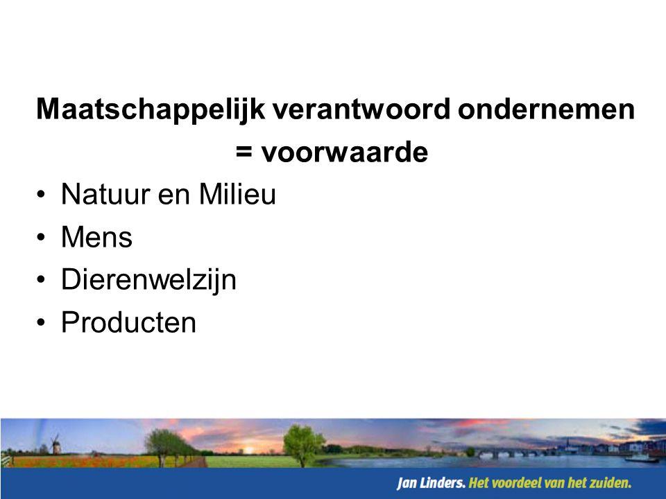 Jan Linders, Sterk: •Concentratie in één regio •Inkoop gebundeld (Superunie) •Positief imago bij stakeholders •Korte lijnen •Sterke logistiek •Beste verssupermarkt