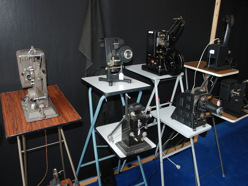 Natuurlijk is er ook filmapparatuur aanwezig! Fotografica Museum ZuidHolland